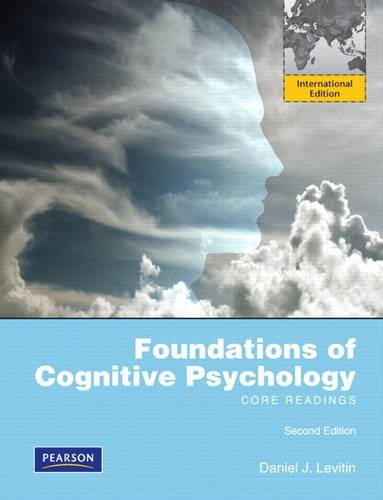 9780205189083: Foundations of Cognitive Psychology: Core Readings: International Edition