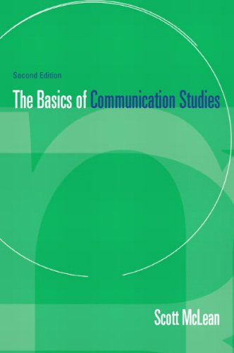 9780205190225: Basics of Communication Studies (2nd Edition)