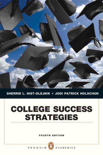 9780205190911: College Success Strategies (4th Edition)