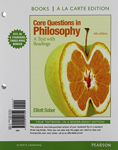 9780205191352: Core Questions in Philosophy: A Text With Readings