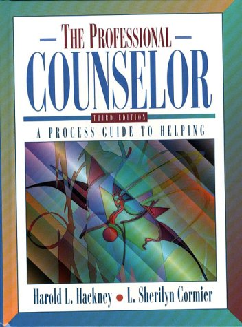 Professional Counselor: A Process Guide to Helping