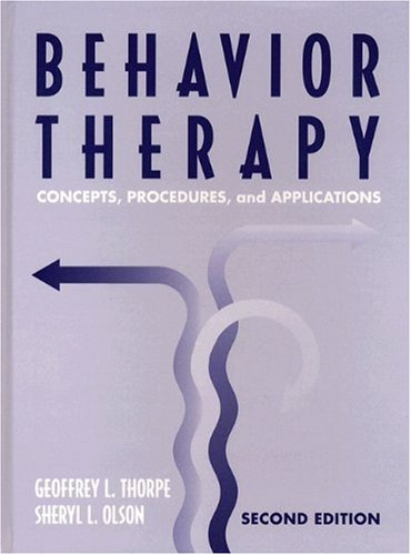 9780205193387: Behavior Therapy: Concepts, Procedures, and Applications (2nd Edition)