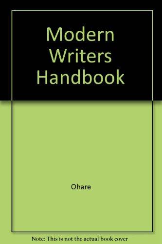 9780205193431: The Modern Writer's Handbook