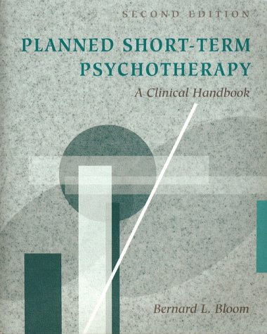 9780205193448: Planned Short-Term Psychotherapy: A Clinical Handbook (2nd Edition)