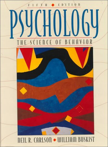 9780205193455: Psychology: The Science of Behavior (5th Edition)