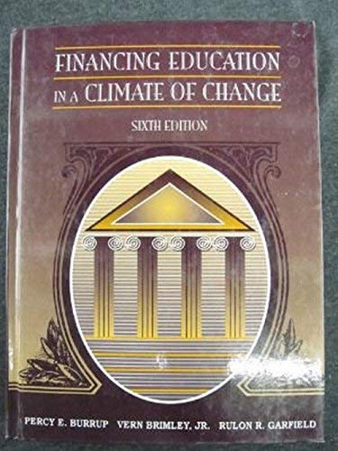 9780205194384: Financing Education in a Climate of Change