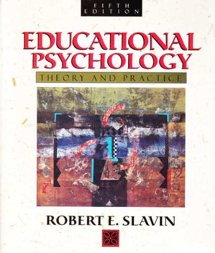 9780205196456: Educational Psychology: Theory and Practice
