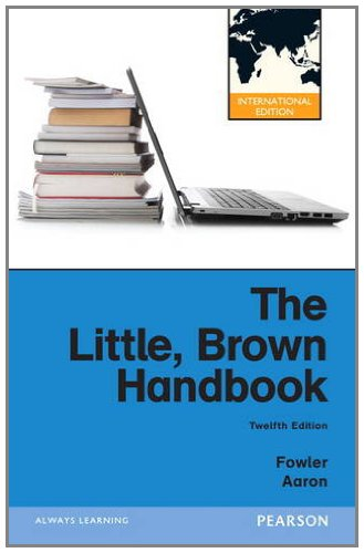 9780205197651: Little, Brown Handbook, The:International Edition