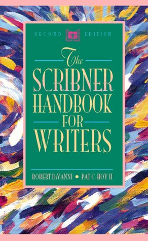 9780205198382: Scribner Handbook for Writers, The