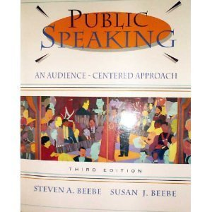 9780205198474: Public Speaking: An Audience-Centered Approach