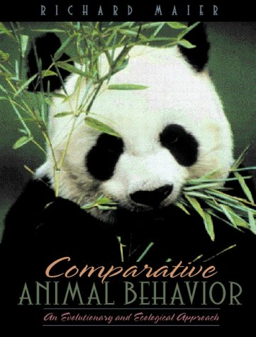 9780205199853: Comparative Animal Behavior: An Evolutionary and Ecological Approach