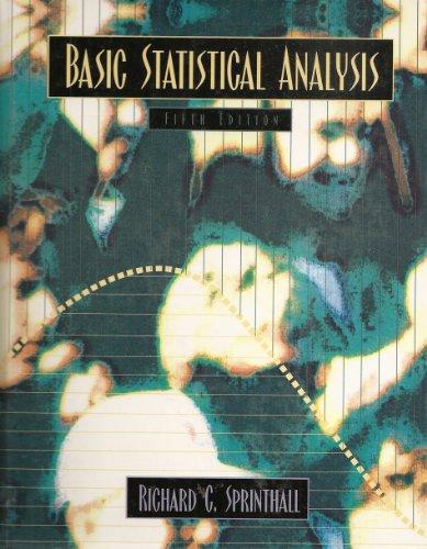 9780205200597: Basic Statistical Analysis