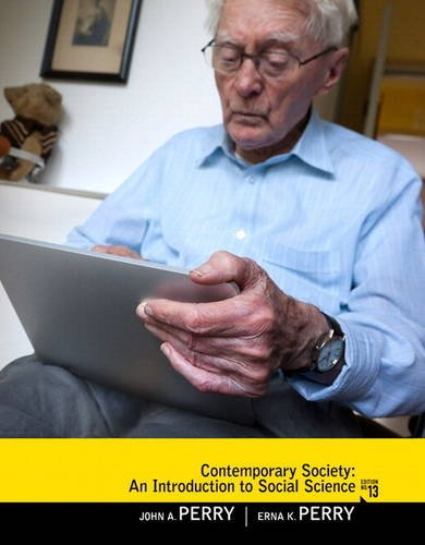 9780205201457: Contemporary Society: An Introduction to Social Science Plus MySearchLab with eText -- Access Card Package (13th Edition)