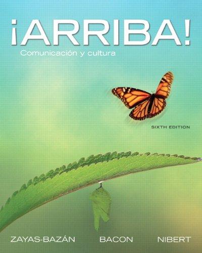 9780205203338: ¡Arriba!: Comunicación y cultura, 6th Edition