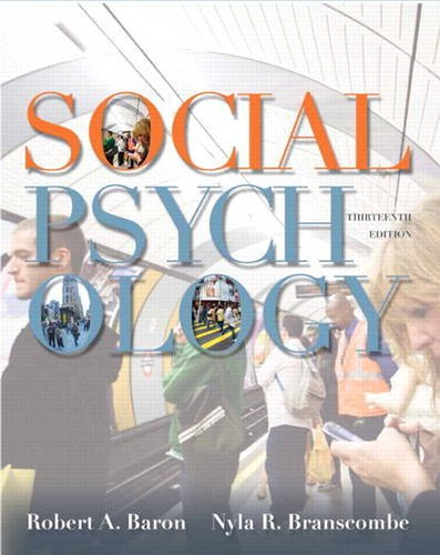 9780205205585: Social Psychology (13th Edition)