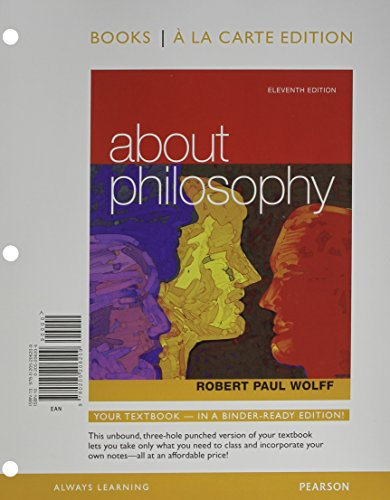 9780205206216: About Philosophy, Books a la Carte Plus MyPhilosophyLab with eText-- Access Card Package (11th Edition)