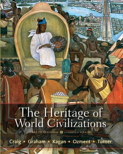 9780205207572: The Heritage of World Civilizations: Brief Edition, Combined Volume with NEW MyHistoryLab with eText -- Access Card Package (5th Edition)