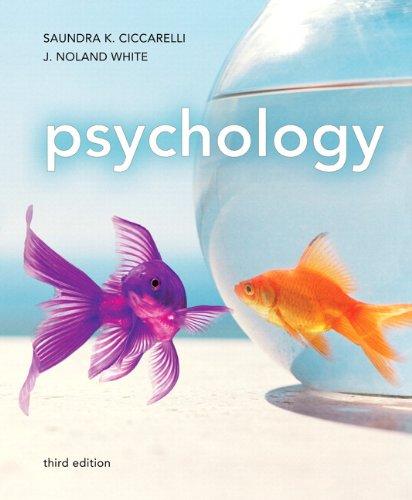 Psychology -- (3rd Edition) [Mar 24, 2011]