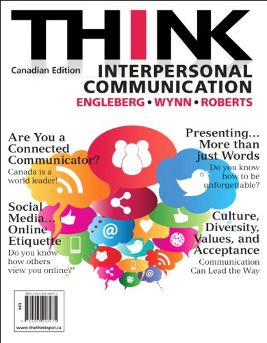 9780205208975: THINK Interpersonal Communication, First Canadian Edition