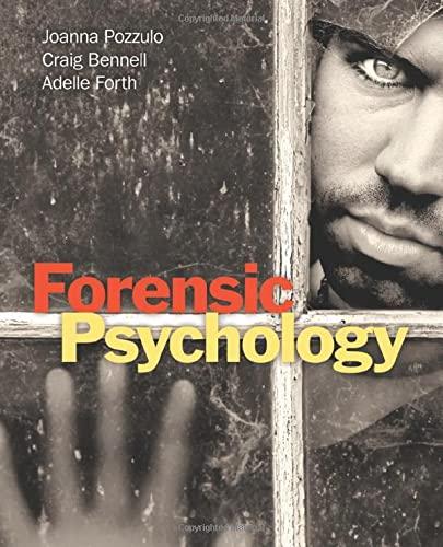 9780205209279: Forensic Psychology