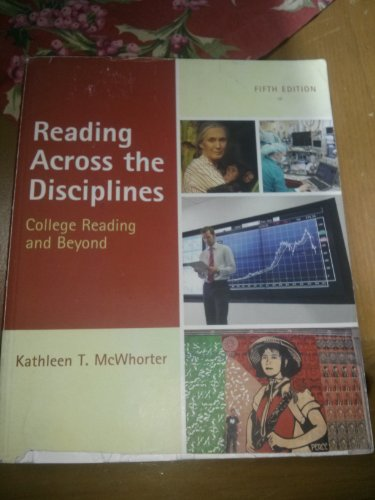 9780205209491: Reading Across the Disciplines (Annotated Instructor's Edition)