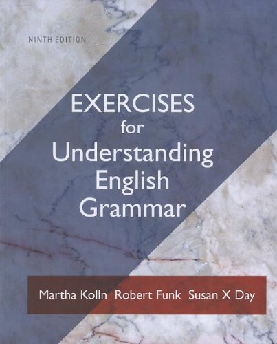 9780205209606: Exercise Book for Understanding English Grammar