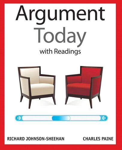 9780205209675: The Argument Today with Readings