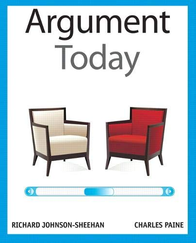 9780205209682: Argument Today