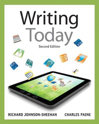9780205210084: Writing Today (2nd Edition)