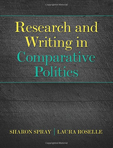 9780205210305: Research and Writing in Comparative Politics