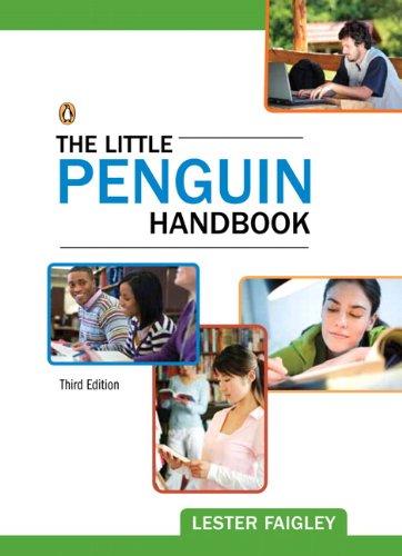 9780205211340: The Little Penguin Handbook