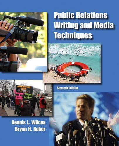 9780205211678: Public Relations Writing and Media Techniques (7th Edition)