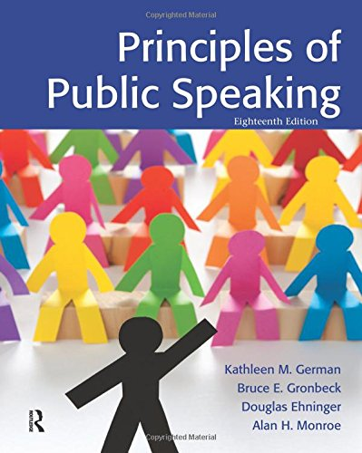 9780205211845: Principles of Public Speaking
