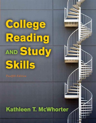 9780205213023: College Reading and Study Skills (12th Edition)