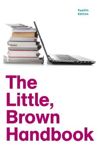 9780205213078: The Little, Brown Handbook, 12th Edition