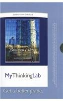 9780205214068: MyThinkingLab -- Standalone Access Card -- for Business Ethics: Concepts and Cases (7th Edition) (MyThinkingLab (Access Codes))