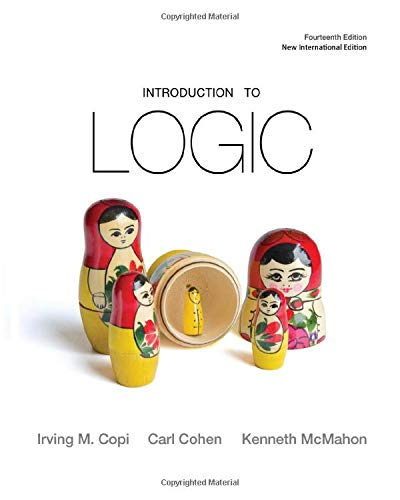 9780205214457: Introduction to Logic (Spiral Bound) (14th Edition)