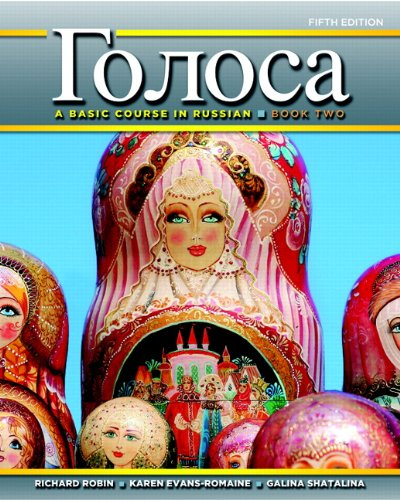 9780205214600: Golosa: A Basic Course in Russian, Book Two (5th Edition)