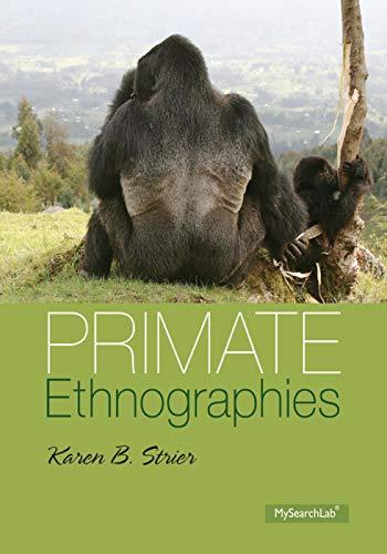 9780205214662: Primate Ethnographies