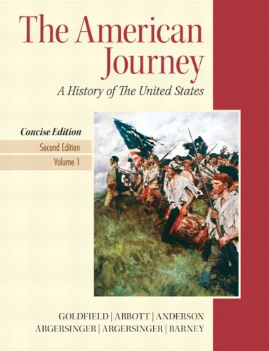 9780205214952: American Journey, The, Concise Edition, Volume 1 (2nd Edition)