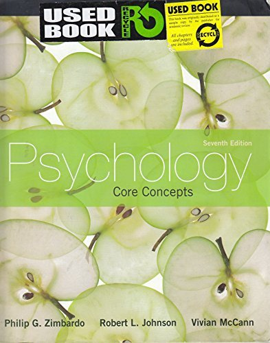 9780205215133: Psychology: Core Concepts (Instructor Edition)