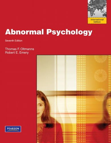 Case Studies in Abnormal Psychology   Edition   by Ethan E     Scribd                Abnormal Psychology   Th Edn
