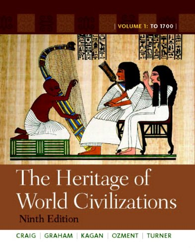 9780205216475: The Heritage of World Civilizations: Volume 1 with NEW MyHistoryLab and Pearson eText (9th Edition)