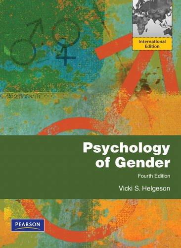 9780205216642: Psychology of Gender