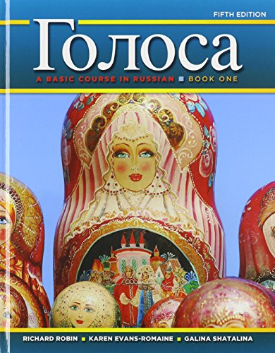9780205216765: Golosa: A Basic Course in Russian, Book One, Student Activities Manual, and Oxford New Russian Dictionary, The (Paperback) (5th Edition)