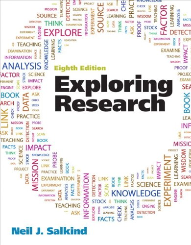 9780205217014: Exploring Research Plus MySearchLab with eText -- Access Card Package (8th Edition)