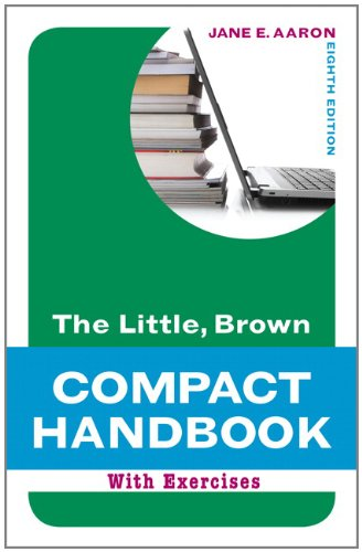 9780205217519: The Little, Brown Compact Handbook with Exercises (8th Edition) (Aaron Little, Brown Franchise)