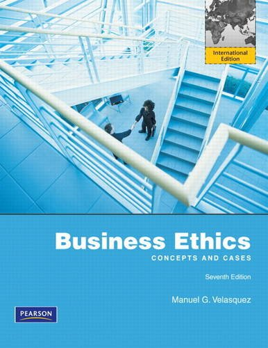 9780205217670: Business Ethics:Concepts and Cases: International Edition