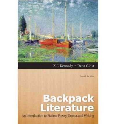 9780205218660: Backpack Literature: An Introduction to Fiction, Poetry, Drama, and Writing with MyLiteratureLab (4th Edition)