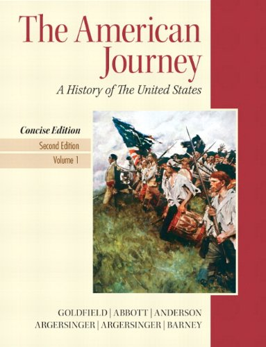 9780205219582: American Journey, The, Concise Edition, Volume 1 Plus NEW MyHistoryLab with eText -- Access Card Package (2nd Edition)